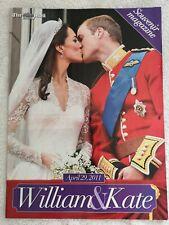 Mail On Sunday William & Kate 2011 Wedding Souvenir Magazine