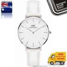 New Daniel Wellington Ladies Watch Classic Petite Bondi White Leather DW00100190