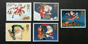 Britain Christmas 1997 Santa Claus Festival Gift Cartoon Children (stamp) MNH