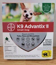 Bayer Advantix Ii Small Dog 2-Monthly Doses Flea Treatment 7 Weeks+ 4-10 lbs