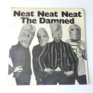 "The Damned - Neat Neat Neat 7"" Vinyl Single 1st Press EX/EX+ Island Sleeve Solid"