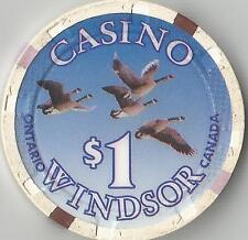 CASINO WINDSOR /NORTHERN BELLE CASINO   $1    CANADA CASINO CHIP