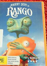 DVD  Rango / Johnny Deep / Plus: 10 Deleted Scenes / (PG) /   Reg 4