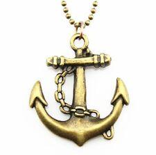chaîne d'ancre Ancre 70 cm chaîne pendentif collier ancre punk gothique pirate