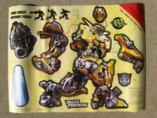 TRANSFORMERS Fly Paper Poster Bumblebee NIP