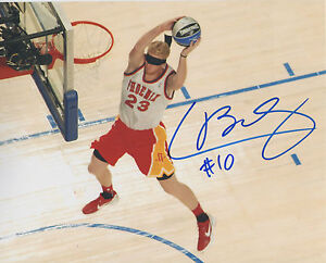 Chase Budinger MN Minnesota Timberwolves Signed 8x10 Photo C2 COA GFA