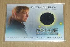 2013 Cryptozoic FRINGE Season 3/4 BINDER wardrobe Anna Torv as Olivia Dunham M27