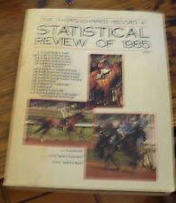 The THOROUGHBRED RECORD Statistical Review of 1985 YEARBOOK Free US Shipping
