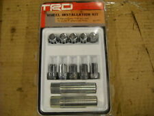 2005 - 2014 Toyota Tacoma TRD Wheel Lug Nut Kit with Locks, PTR27-35100