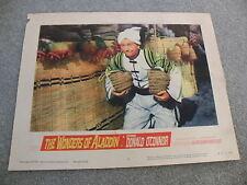 The Wonder of Aladdin starring Donald O'Connor Lobby Card 1961 #61/314-1 movie