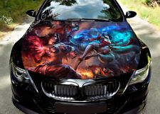 Girls War Hood Full Color Graphic Wrap Decal Vinyl Sticker Fit any Car #307