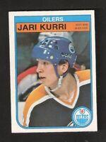 1982-83 OPC O-Pee-Chee JARI KURRI #111 NM-MINT Hockey Edmonton Oilers Finland
