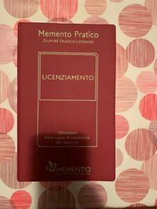 Memento PraticoLicenziamento (9788828807308)