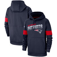 NFL New England Patriots Fooball Hoodies Sweatshirts 100th Anniversary Pullover