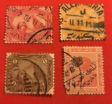 World Stamps Egypt 1879-1922 Issues Lot 683