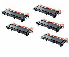 5-Pack/Pk TN660 TN630 High Yield Toner for Brother HL-L2300D L2320D L2340DW