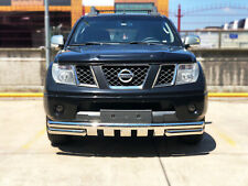 NAVARA CHROME SPOILER BAR BULL NUDGE BAR GRILL CITY GUARD 2006-ONWARDS