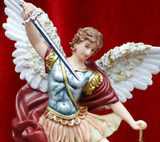 Holy Christian Catholic St. Michael Resin Statue Figurine religion gift 12""