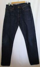 HAN KJOBENHAVN~ Danish Design Dark Blue Wash Japanese Selvedge Denim  Jeans 30