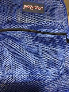 JanSport Mesh Pack Backpack - Regal Blue