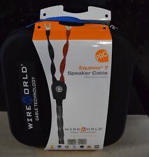 Wireworld Equinox 7 Bi-wire 3.0M Spade to Spade Speaker Cable (Pair)