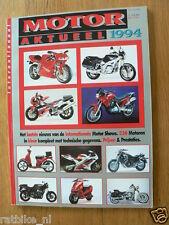 MOTOR AKTUEEL 1994 ALL MODELS DUTCH MARKET IN COLOUR MALAGUTI,MAGNI,MOTO GUZZI,