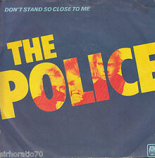 THE POLICE Don't Stand So Close To Me / Friends 45