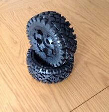 HPI BAJA ALL TERRAIN FRONT TIRE WTH WHEELS FOR HPI BAJA 5B,5T,5SC,2.0,SS,KM,1/5