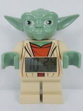 2013 LEGO STAR WARS YODA FIGURE CLOCK