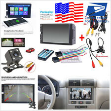 "7"" HD Touch Screen 2 Din Car Video Player Monitor Radio Audio Stereo MP5 FM USB"
