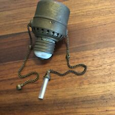 Vintage Ingersol-lite Pull Chain Radium Tritium Tube Watch Lamp Chain Dim A Lite