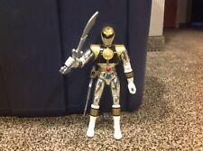 1995 Bandai Power Rangers Silver Ranger with extra sword