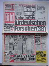 Bild Zeitung, 10.10.1984, Woody Allen, Deep Purple, Petra Geisler, Mia Farrow