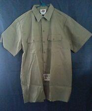 New Dickies Men's work short sleeve shirt sz L