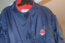 """Logo Athletic"" Cleveland Indians Full Zip Jacket- Zip Off Sleeves *Pre-Owned*"