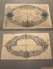 500 Francs Bleu et Rose Type 1888 – 12/7/1926 F.7803 TB