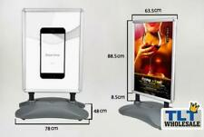 Outdoor A1 Double Sided Snap Frame Advertising Poster Stand Display Board
