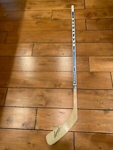 Rick MacLeish Philadelphia Flyers Signed Hockey Stick KOHO 2100 ULTIMATE WOOD