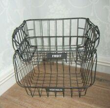 More details for 2 tier  grey metal fruit & veg rack