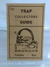 Trap Collectors Guide Frodelius and Burt 1975 Nos