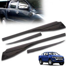 15 16 17 18 Ford Ranger T6 Mk2 Side Door Window Cladding Trim vent Protection