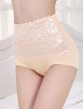 UK High Waist Shaper Butt Lifter Control Panty Booty Tummy Lace Bum Trimmer UK10