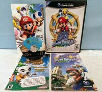 Super Mario Sunshine (Nintendo GameCube, 2002) Complete with Manual - Tested