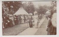 Dorset postcard - Meyrick Park Fete, Bournemouth - Early RP (A95)