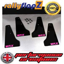 miniflapz Subaru Impreza (01-07) Spritzschutz schwarz (Scooby pink WRX ) 3mm PVC