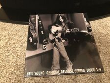 Neil Young Official Release Series Discs 1-4,  4 LP BOX SET, NUMBERED & SEALED !