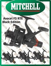 Mulinello Mitchell AVOCET FS RTE Black Edition free spool drifting carp fishing