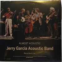 JERRY GARCIA ACOUSTIC BAND - Almost Acoustic Ltd RSD 2LP 180G GREEN VINYL #d New