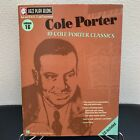 Cole Porter Jazz Lead Sheets Play Along Book and CD VGC 000843009