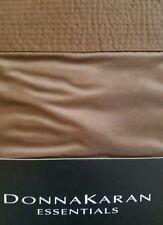 New Donna Karan The Essentials City Stripe Amber Brown Euro Pillow Sham